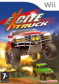 Portada oficial de Excite Truck para Wii