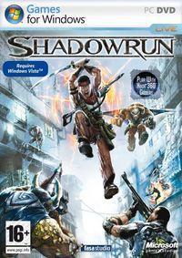 Portada oficial de Shadowrun para PC