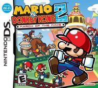 Portada oficial de Mario vs. Donkey Kong 2: March of the Minis para NDS