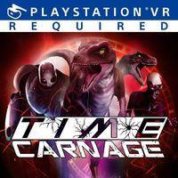 Portada oficial de Time Carnage para PS4