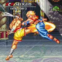 Portada oficial de NeoGeo Fatal Fury 3 para Switch