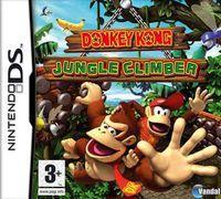 Portada oficial de Donkey Kong Jungle Climber para NDS