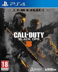 Portada oficial de Call of Duty: Black Ops IIII para PS4