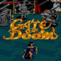 Portada oficial de Gate of Doom para Switch