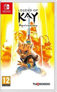Portada oficial de Legend of Kay Anniversary para Switch
