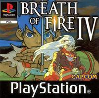 Portada oficial de Breath of Fire IV para PS One