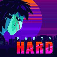 Portada oficial de Party Hard para Switch
