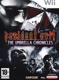 Portada oficial de Resident Evil Umbrella Chronicles para Wii