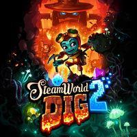 Portada oficial de SteamWorld Dig 2 eShop para Nintendo 3DS