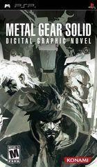 Portada oficial de de Metal Gear Solid Digital Graphic Novel para PSP