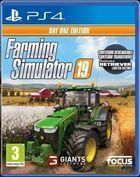 Portada oficial de de Farming Simulator 19 para PS4