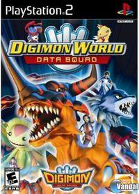 Portada oficial de Digimon World Data Squad para PS2