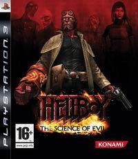 Portada oficial de Hellboy: Science of Evil para PS3