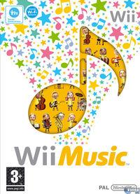 Portada oficial de Wii Music para Wii