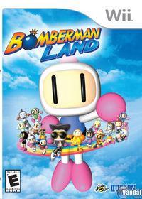 Portada oficial de Bomberman Land para Wii