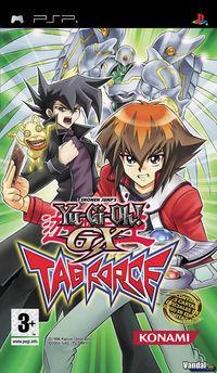 Portada oficial de Yu-Gi-Oh! GX para PSP