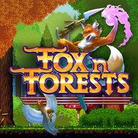 Portada oficial de Fox n Forests para Switch