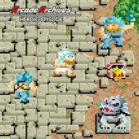 Portada oficial de Arcade Archives HEROIC EPISODE para Switch