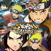 Portada oficial de Naruto Shippuden: Ultimate Ninja Storm Trilogy para Switch
