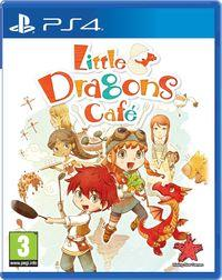 Portada oficial de Little Dragons Cafe para PS4