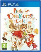 Portada oficial de de Little Dragons Cafe para PS4