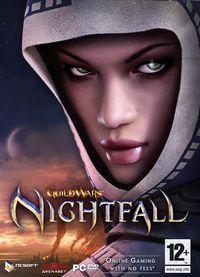 Portada oficial de Guild Wars Nightfall para PC