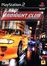 Portada oficial de Midnight Club para PS2