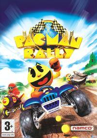 Portada oficial de Pac-Man World Rally para PS2