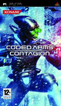 Portada oficial de Coded Arms Contagion para PSP