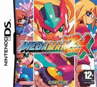 Portada oficial de Megaman ZX para NDS