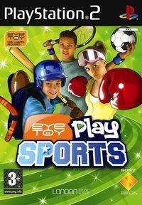 Portada oficial de EyeToy: Play Sports para PS2