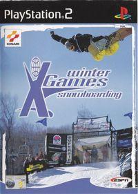 Portada oficial de Winter X Games: Snowboarding para PS2