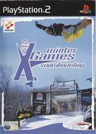 Portada oficial de de Winter X Games: Snowboarding para PS2