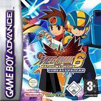 Portada oficial de Megaman Battle Network 6 Falzar & Gregar para Game Boy Advance
