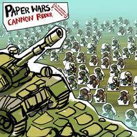 Portada oficial de Paper Wars: Cannon Fodder Desvastated para Switch