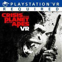 Portada oficial de Crisis on the Planet of the Apes VR para PS4