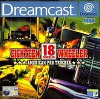 Portada oficial de 18 Wheeler American Pro Trucker para Dreamcast