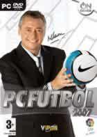 Portada oficial de de PC Fútbol 2007 para PC