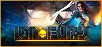 Portada oficial de Ion Fury para PC