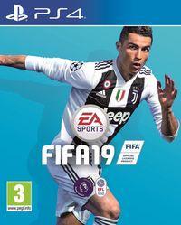 Portada oficial de FIFA 19 para PS4