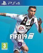 Portada oficial de de FIFA 19 para PS4