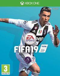 Portada oficial de FIFA 19 para Xbox One