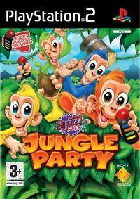 Portada oficial de Buzz! Junior: Jungle Party para PS2