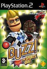 Portada oficial de Buzz! Sports para PS2