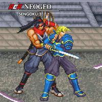 Portada oficial de NeoGeo Sengoku 3 para Switch