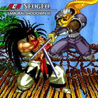 Portada oficial de NeoGeo Samurai Shodown III para Switch
