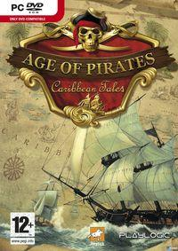 Portada oficial de Age of Pirates: Caribbean Tales para PC