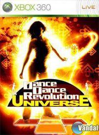Portada oficial de Dancing Stage Universe para Xbox 360