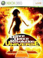 Portada oficial de de Dancing Stage Universe para Xbox 360
