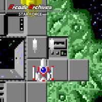 Portada oficial de Arcade Archives STAR FORCE para Switch